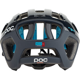 POC Octal X Spin Helmet uranium black